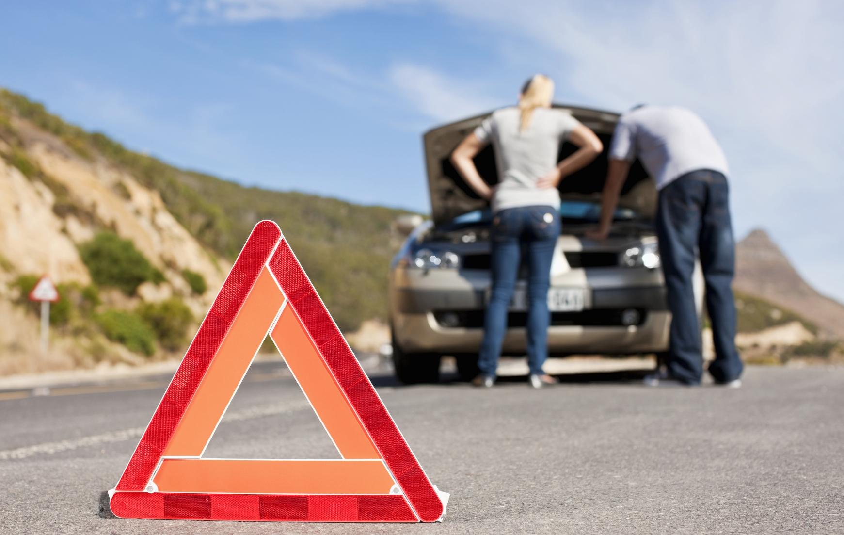 Что делать, если автомобиль сломался в пути