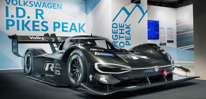 Volkswagen показал 680-сильный электрический ID R Pikes Peak