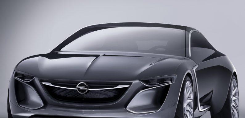 Opel Monza – новый концепт от Opel.