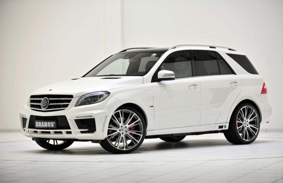 Новый Mercedes-Benz ML получил тюнинг от Brabus