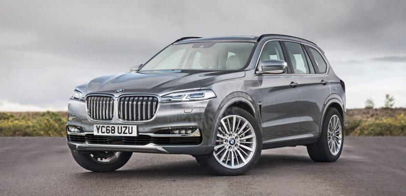 BMW выпустит кроссовер X7