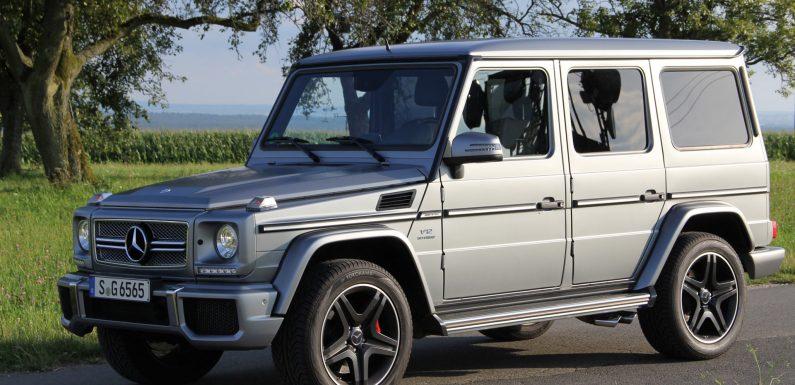 Обновленный Mercedes G-klasse