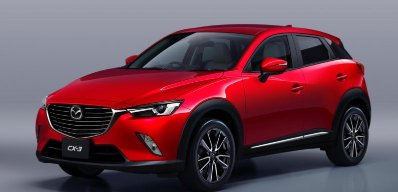 Mazda представит новый кроссовер CX-3