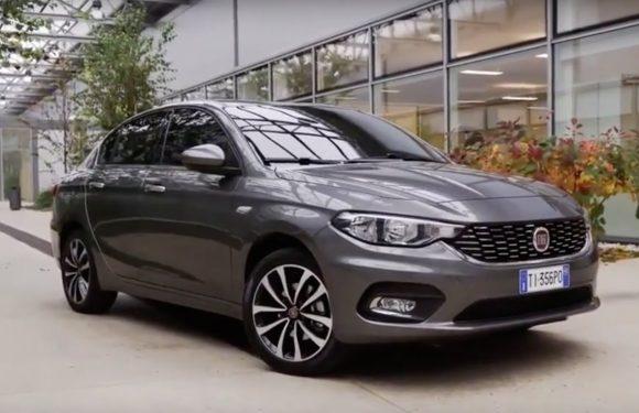Новый седан от Fiat