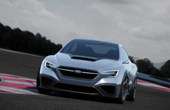 Subaru создала концепт нового автомобиля