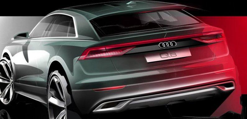 Audi Q8: первое официальное изображение