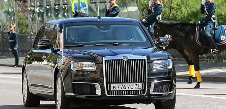 Путин поручил начать производство автомобилей проекта «Кортеж»