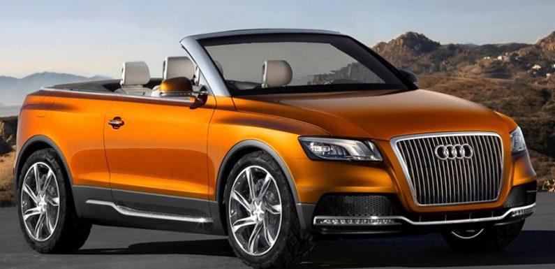 В Audi запатентовали необычную складную крышу для кроссовера