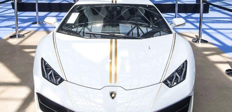 Lamborghini Папы Римского продали с аукциона
