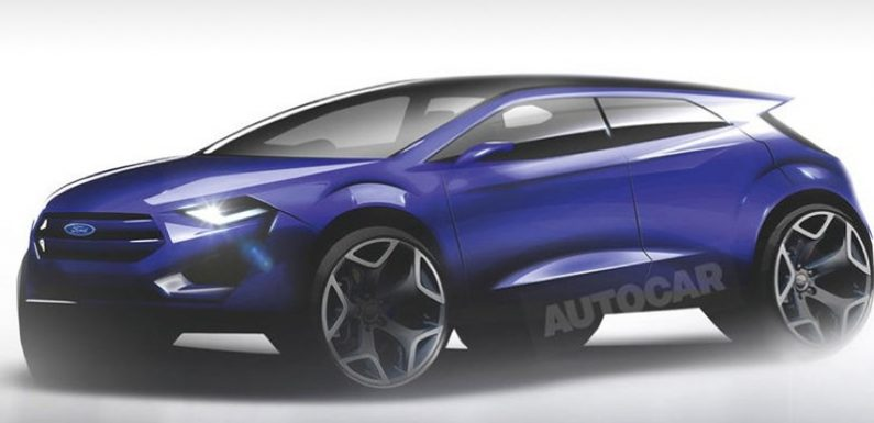 Электрический кроссовер Ford построят на базе Focus