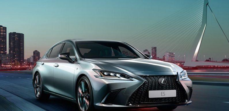 Lexus рассказал о ES для России