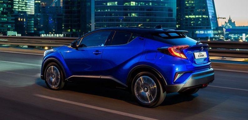 Toyota рассказала подробности о C-HR для России