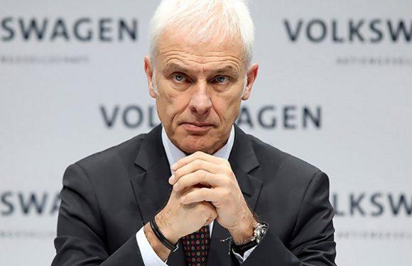 Глава Volkswagen AG может уйти в отставку