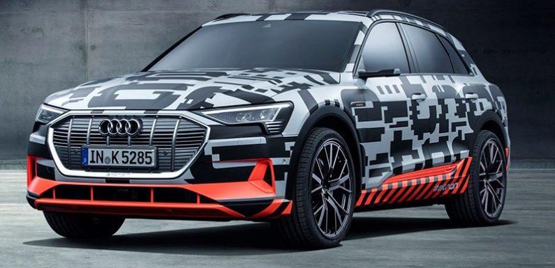 Audi отменила презентацию электрического кроссовера