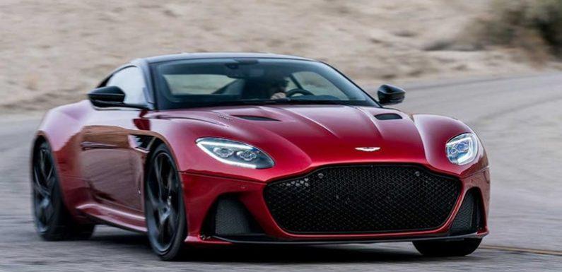 Рассекречено новое купе Aston Martin