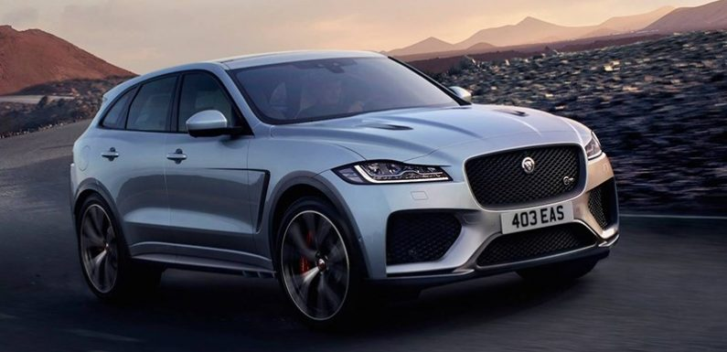 Jaguar ответил Mercedes-AMG GLC 63