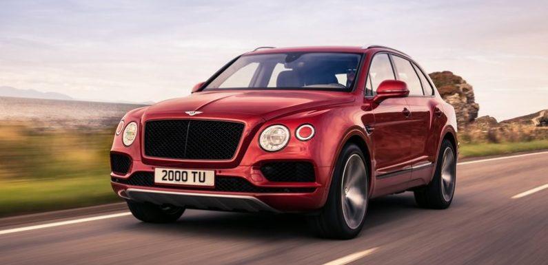 Bentley привезла в Россию Bentayga с новым мотором