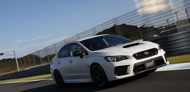 Subaru WRX STI получила лимитированную версию