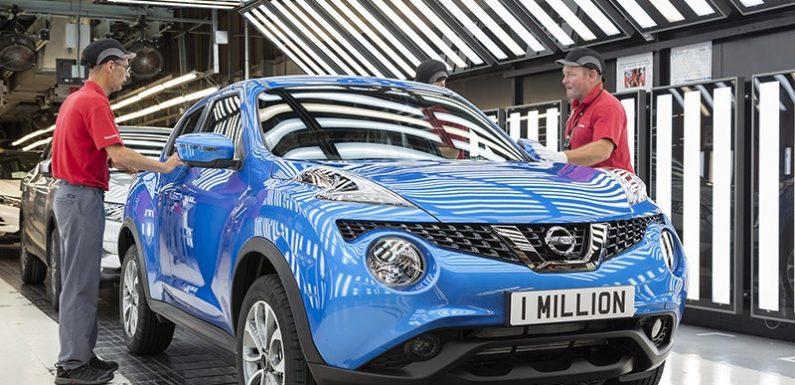 Nissan выпустил миллион Juke