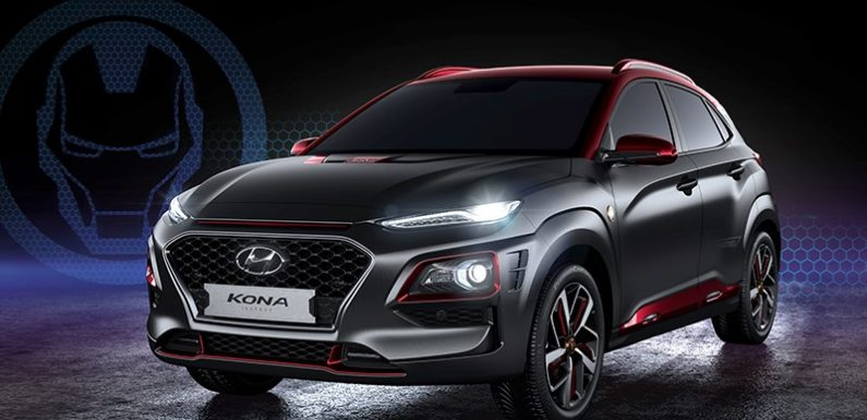 Hyundai Kona превратили в автомобиль Железного Человека