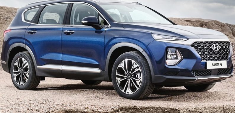 Новый Hyundai Santa Fe получит в России три двигателя