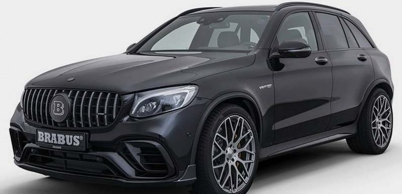 Brabus превратил Mercedes-AMG GLC в спорткар