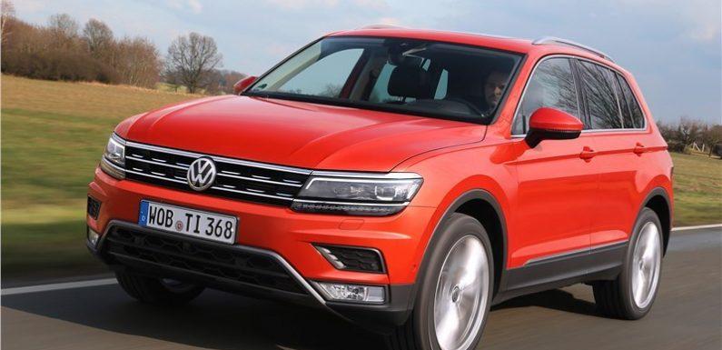 Volkswagen отзывает более 700 тысяч Tiguan и Touran