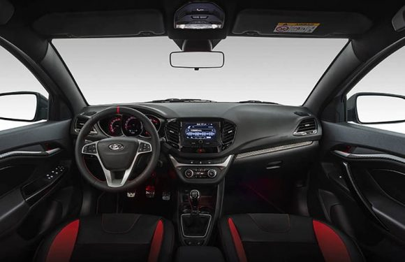 АвтоВАЗ показал салон самой крутой Lada Vesta