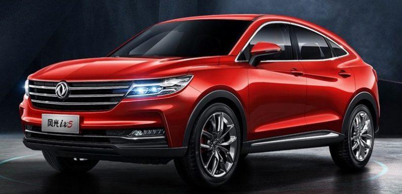 Теперь и в Китае: показан купе-кроссовер Dongfeng ix5