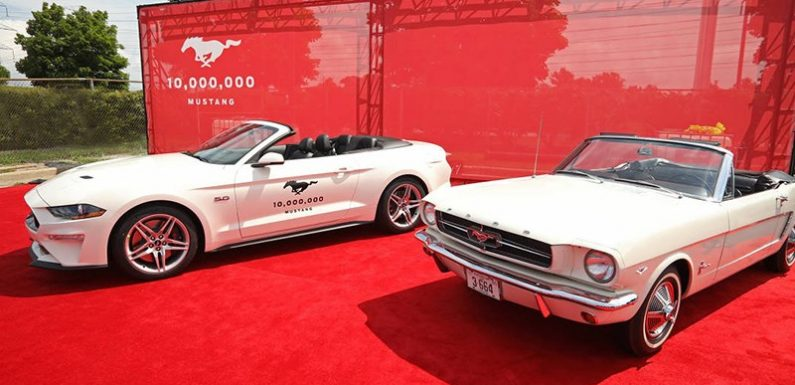 Ford выпустил 10-миллионный Mustang