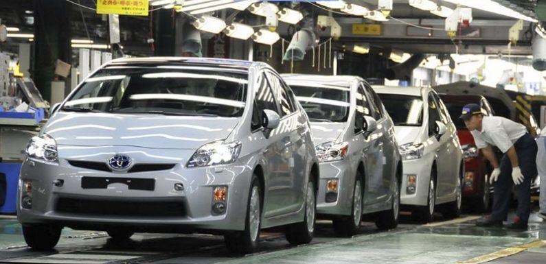 Тойота разгоняет конвейер в Китае