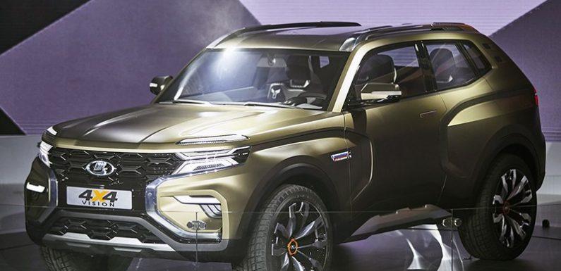 Дизайнерская новинка от АвтоВАЗ: свежая концепция Lada 4×4