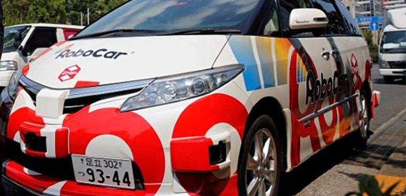 Такси без водителей на Олимпиаду 2020 в Японии