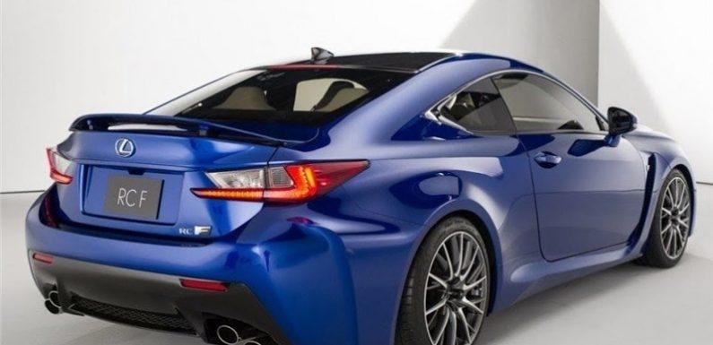 Обновленный Lexus RC — еще более дикий