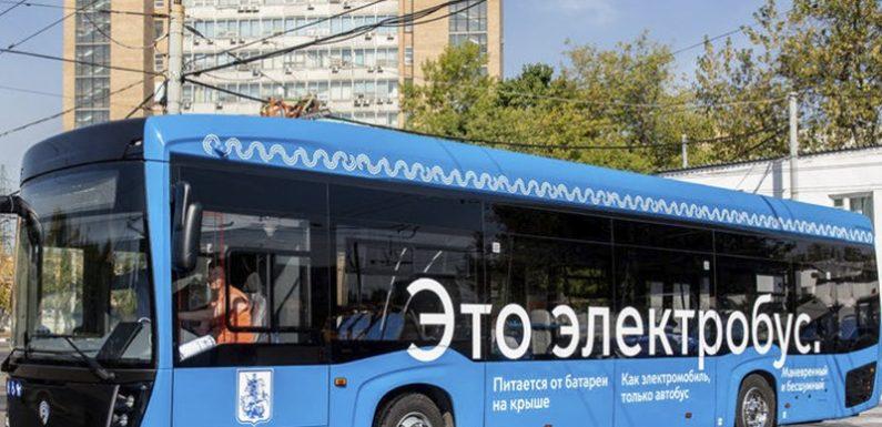 Первый московский электроавтобус пока далеко не уехал