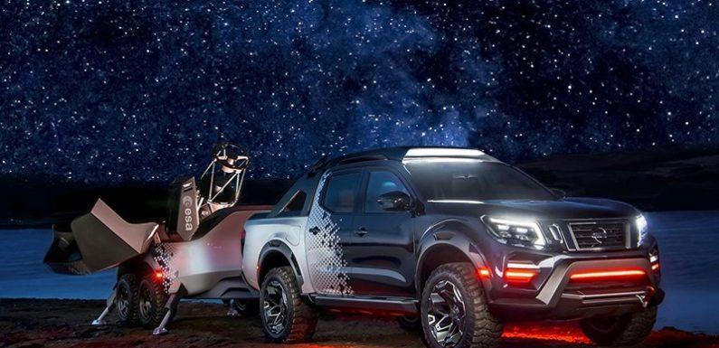 На пикапе Nissan Navara к звёздам!