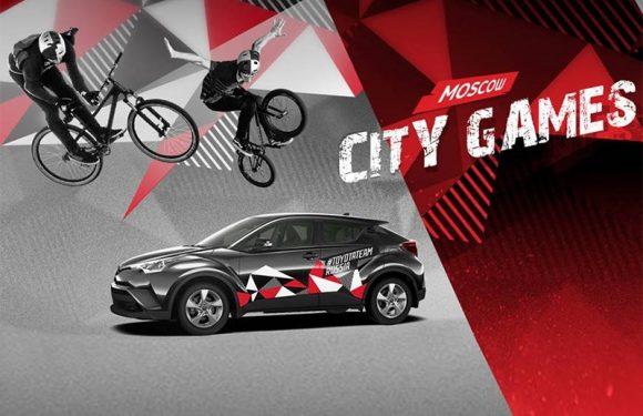 Toyota стала партнером масштабного фестиваля экстрима и спорта Moscow City Games 2018