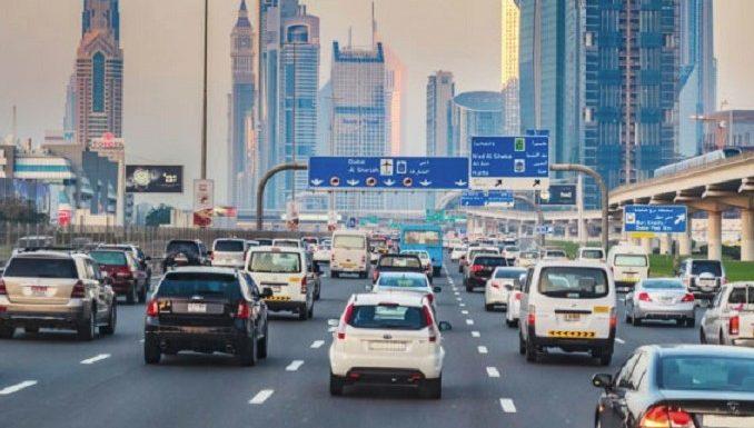 Основные правила дорожного движения в ОАЭ