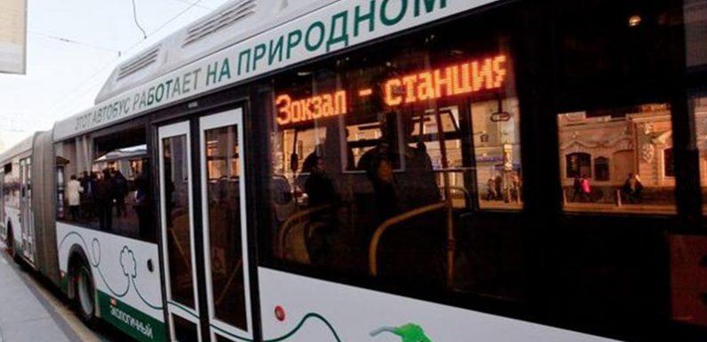«Зелёный» Питерский автобус