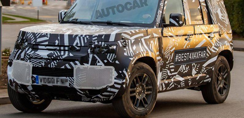 В Сети появились «шпионские» снимки нового Land Rover Defender