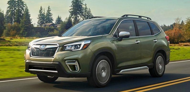 Появились цены Subaru Forester нового поколения