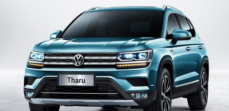 VW начинает продажи бюджетного кроссовера Tharu