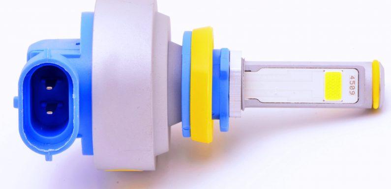 Светодиодные лампы h8 для противотуманных фар авто