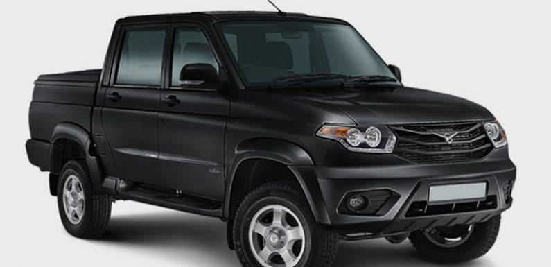Новый УАЗ «Пикап» уже в продаже