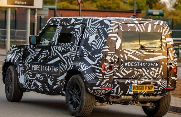 В шпионские объективы попал новый Land Rover Defender