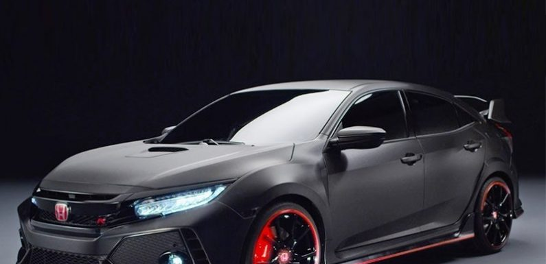 Honda Civic Type R — горячий подстаканник