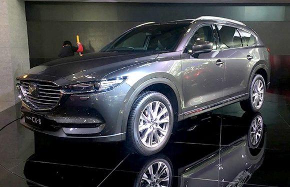 Обновлённая Mazda CX-8 выходит в Японии