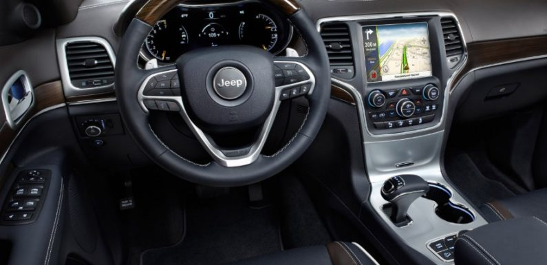 Профессиональный навигатор на Android Jeep Grand Cherokee
